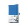 SIGEL Jegyzetfüzet, exkluzív, A5, vonalas, 194 oldal, keményfedeles, SIGEL Conceptum, mélykék