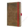 "SIGEL Jegyzetfüzet, exkluzív, A5, vonalas, 194 oldal, SIGEL ""Conceptum Vintage"", barna (SICO603)"