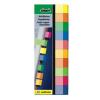 """SIGEL Jelölőcímke, papír, 10x50 lap, 15x50 mm, SIGEL """"Multicolor"""", vegyes szín"""