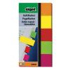 """SIGEL Jelölőcímke, papír, 5x40 lap, 20x50 mm, SIGEL """"Neon"""", vegyes szín"""