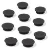 SIGEL Mágneskorong, 25 mm, 10 db/csomag, SIGEL, fekete