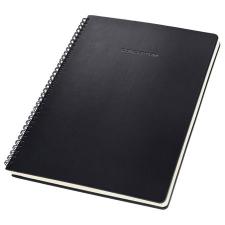 """SIGEL Spirálfüzet, exkluzív, A4, kockás, 80 lap, keményfedeles, SIGEL """"Conceptum"""", fekete füzet"""