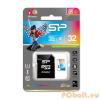 Silicon Power 32GB microSDHC Elite UHS-1 adapterrel