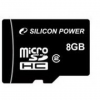 Silicon Power 8GB Micro Secure Digital Card CL4 Adapter nélkül (SP008GBSTH004V10)