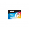 Silicon Power MICRO SD Silicon Power 64GB Superior UHS-1 U3 color (SP064GBSTXDU3V20SP)