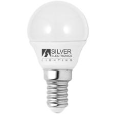 Silver Electronics Gömbölyű LED Izzó Silver Electronics Eco E14 5W Fehér fény izzó