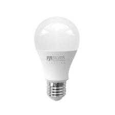 Silver Electronics Gömbölyű LED Izzó Silver Electronics ECO E27 15W Fehér fény izzó