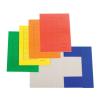 SilverBall Pólyás dosszié színes A4/230gr. SÁRGA SilverBall <50db/csom>