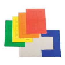 SilverBall Pólyás dosszié színes A4/230gr. SÁRGA SilverBall <50db/csom> irattartó