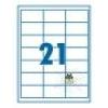 SilverBall SilverBall etikett címke 63,5x38,1 mm 21 címke/lap (100 lap/doboz)