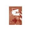 SilverBall Spirálos zsebkönyv A5 50 lapos KOCKÁS SilverBall <10db/csom>