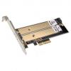 Silverstone SST-ECM22 2x M.2 bővítőkártya PCIe(SST-ECM22)