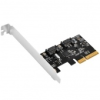 Silverstone SST-ECS03 RAID kártya LP - PCIe