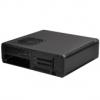 Silverstone SST-FTZ01S Fortress Mini ITX ház - fekete