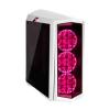 Silverstone SST-PM01W-RGB Primera Midi-Tower Tempered Glass -w (SST-PM01W-RGB)