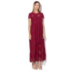 Silvian Heach Collection , Sollana maxi csipkeruha, Lila, L (PGA18607VE-SANGRIA-L)