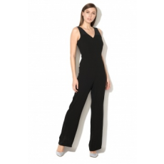 Silvian Heach Collection , Trinta hosszú overall, Fekete, XS (PGP18347TU-BLACK-XS)
