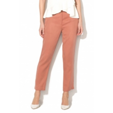 Silvian Heach Collection , Urupema lyocell crop chino nadrág, Koptatott piros, 38 (PGP18363PA-PHARD-38)