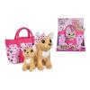 Simba ChiChi szerelmi család Chihuahua kutya táskában