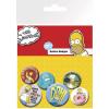 Simpson család kitûzõk