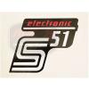 SIMSON UNIVERZÁLIS MATRICA DEKNIRE S51 ELEKTRONIC /PIROS/