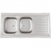 Sinks CLP-A 1200 DUO M 0,6mm matt