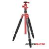 SIRUI T-004X Háromlábú Alumínium Állvány Piros (tripod)