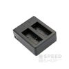 SJCAM akkumulátor töltő, 2xUSB, 5V/2A (SJ4000 / SJ5000 / M10)