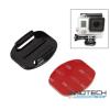 SJCAM SJCAM / GoPro akció kamera egyenes gyors csatlakozó talp alj 3M öntapadós rögzítő SJ/GP-15 SJ GP-15