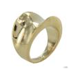 Skagen Női gyűrű Concave csillógó arany JRSG001 S8 Gr. 57 (18,1)