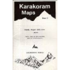Skardu, Hispar, Biafo Area (no2.) térkép - West Col