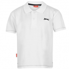 Slazenger gyerek póló - Plain Polo Shirt Infant White