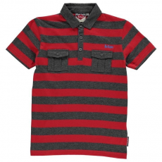 Slazenger gyerek póló - Slazenger Plain Polo Shirt Junior Red