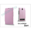 Slim Slim Flexi Flip bőrtok - Alcatel One Touch Idol X (6040D) - fekete