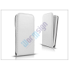 Slim Slim Flexi Flip bőrtok - Samsung SM-G920 Galaxy S6 - fehér