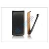 Slim Slim Flip bőrtok - Samsung SM-G900 Galaxy S5 - fekete