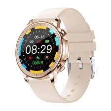Smart Watch Okosóra, Multifunkcionális, vízálló sport okosóra nőknek, gold okosóra