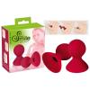 smile Smile Nipple Teaser - szilikon bimbószívók (piros)