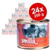 Smilla szárnyastál gazdaságos csomag 24 x 200 g - Vegyes próbacsomag: Smilla szárnyastál