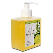 Sodasan bio folyékony szappan citrom-oliva pumpás 300 ml szappan