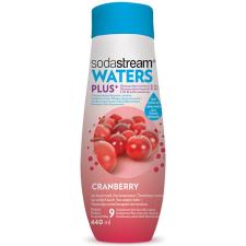 SodaStream waters PLUS vörösáfonya szörp, 440 ml szörp