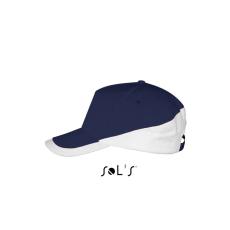 SOL'S baseballsapka, 5 paneles, U, french navy/fehér