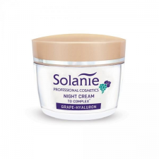 Solanie Szőlő-hialuron éjszakai krém TO complex-szel, 50 ml éjszakai arckrém