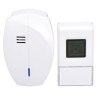 SOLIGHT Vezetéknélküli ajtócsengő, konnektorba, 120m, fehér