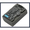 Sony DCR-HC20E 7.2V 650mAh utángyártott Lithium-Ion kamera/fényképezőgép akku/akkumulátor