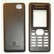 Sony Ericsson K330 előlap és akkufedél fekete mobiltelefon előlap