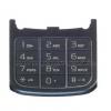 Sony Ericsson W760 alsó billentyűzet fekete (swap)