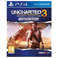 Sony Uncharted 3 Drake's Deception Remastered PS4 videójáték