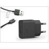 Sony USB gyári hálózati töltő adapter + micro USB adatkábel 100 cm-es vezetékkel - 5V/1,5A - UCH20 + UCB11 black (ECO csomagolás)