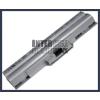 Sony VAIO VGN-AW21S/B 4400 mAh 6 cella ezüst notebook/laptop akku/akkumulátor utángyártott